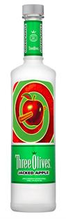 Three Olives Vodka Jacked Apple 1.00l